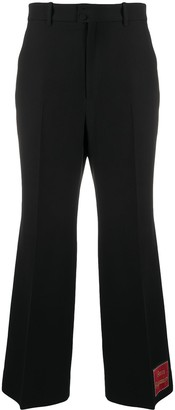 Gucci Orgasmique flared trousers