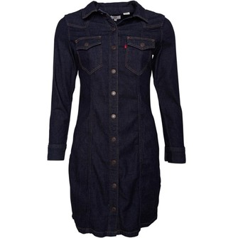 Levi's Womens Gia Western Dress Take It Eazy 2