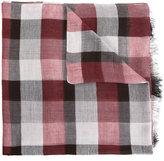 Cerruti checked scarf - men - Cotton/Modal/Viscose - One Size