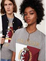 Tommy Hilfiger Unisex Crest Embroidery Crew Neck T-Shirt