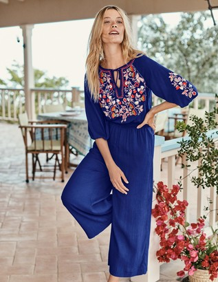 Natalie Embroidered Jumpsuit