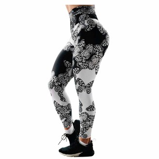 Kalorywee Leggings KaloryWee Womens Sports Leggings Animal Butterfly Printed Sexy Seamless Fitness Workout Casual Fit Gym High Waisted Yoga Pants