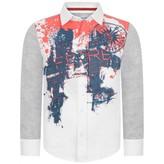 Gianfranco Ferre GF FerreBoys White Rockstar Shirt
