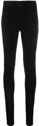 Joseph Black Long-Length Leggings