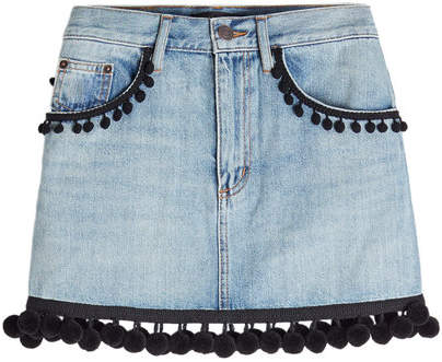 Marc Jacobs Pom Pom Mini Skirt