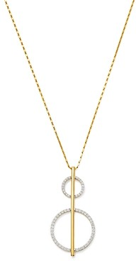 Bloomingdale's Diamond Geometric Pendant Necklace in 14K Yellow Gold, 0.75 ct. t.w. - 100% Exclusive