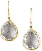 Ippolita Clear Quartz Drop Earrings