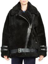 Acne Studios Velocite Shear Lamb Fur Jacket
