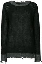 RtA Cassandra raglan sweater - women - Acrylic - M