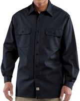Carhartt Twill Work Shirt - Button-Up, Long Sleeve (For Men)