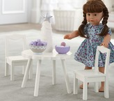 Pottery Barn Kids Doll Flower Table With Chairs