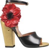 Laurence Dacade Magic sandal with flower
