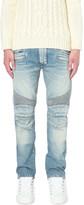 Balmain Biker regular-fit tapered jeans