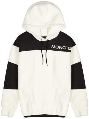Moncler Grenoble Maglia Panelled Fleece Sweatshirt