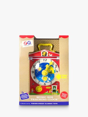 Fisher-Price Classic Music Box Teaching Clock