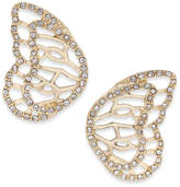 Thalia Sodi Pave Butterfly Wing Stud Earrings, Created for Macy's