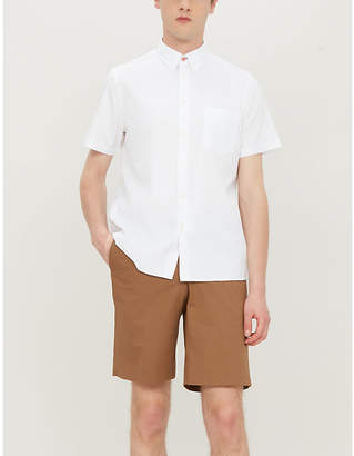 Paul Smith Contrasting button casual-fit cotton shirt