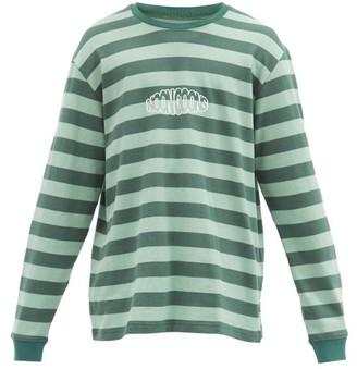 Noon Goons Jamala Cotton-jersey Long-sleeved T-shirt - Green