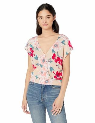 Roxy Women's Colorful Island Short Sleeve Top