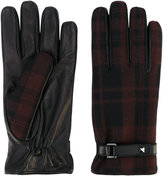Valentino Garavani tartan gloves