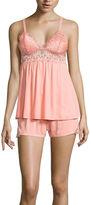Asstd National Brand Daisy Fuentes Shorts Pajama Set