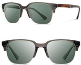 Shwood Men's 'Newport' 52Mm Polarized Sunglasses - Charcoal/ Elm