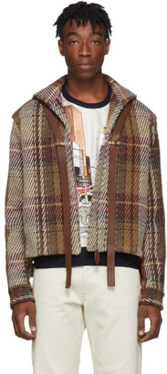 Lanvin Brown Tweed Short Jacket