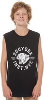 Zoo York Kids Boys Cast Muscle Black