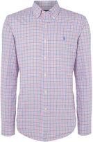 Polo Ralph Lauren Long Sleeve Poplin Check Shirt