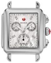 Michele Deco Diamond Dial Watch Case, 33mm x 35mm