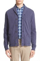 Todd Snyder Shawl Collar Cotton Cardigan