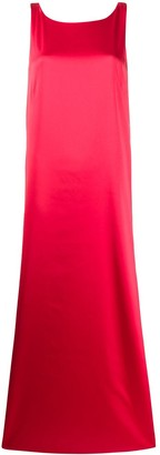 Styland sleeveless flared maxi dress