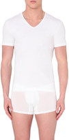 Zegna V-neck short-sleeved t-shirt