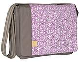 Lassig Casual Messenger Style Diaper Bag, Blossy, Slate by