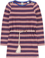 Scotch & Soda Striped dress with a belt