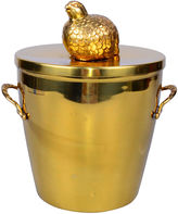 One Kings Lane Vintage Signed Brass Georges Briard Ice Bucket