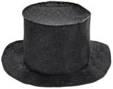 Mouche Black Glitter Magician's Hat