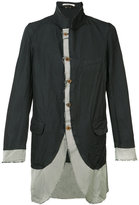 Comme des Garcons raw edge jacket - men - Cotton/Polyester - S