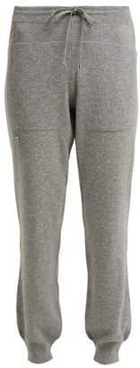 Barrie Romantic Cashmere Track Pants - Womens - Grey