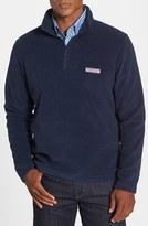 Vineyard Vines Men's Polartec 100 Fleece Quarter Zip Pullover