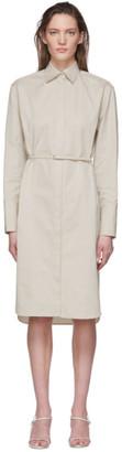 The Row Grey Cotton Sonia Dress