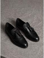 Burberry Leather Tassel Loafers