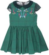 Paade Embroidered Organic Cotton Drill Dress