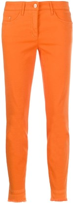 Luisa Cerano Cropped Slim-Fit Trousers