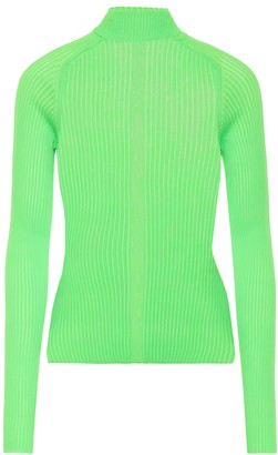 Acne Studios Ribbed turtleneck top