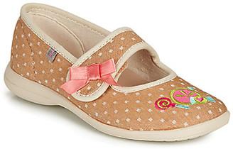 GBB MELINA girls's Flip flops in Beige