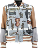 Undercover reversible bomber jacket - women - Silk/Polyester/Rayon - 1