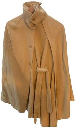 Tara Jarmon Beige Cotton Coats