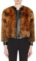 Prada Women's Fox Fur Bomber Jacket