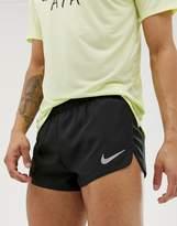 Nike Running Dry 2 inch shorts in black